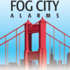 Logo Fog City Alarms. Security Systems. Mobotix High Res Video Systems. Monitoring