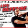 Logo Adult Self Defense Classes - $19.99/Month Martial Arts. Fusion free style