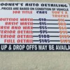 Logo MOONEY'S AUTO DETAILING
