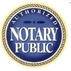 Logo Notary public - paper notarized $10