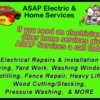 Logo ASAP ELECTRIC & SERVICES LLC - Electrical/Home Services
