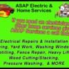 Logo ASAP ELECTRIC & SERVICES LLC - Electrical/Home Services