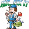 Logo Big or small - we fix it all! Call Mr. Fix It!