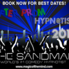 Logo The Sandman - Comedy Hypnotist