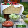 Logo Delicious Celebrations! Personal Cook/Griller For Your Party
