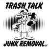 Logo Trash Talk Junk Removal, LLC