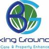 Logo Breaking Ground LLC. Lawn service