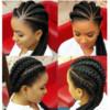 Logo HairByAj New to town Braids, weaves,crochet etc