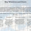 Photo #1: Sky Windows and Doors
