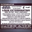 Photo #1: Louie Exterminating