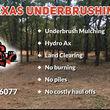 Photo #1: Texas Underbrushing, LLC