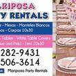 Photo #1: Mariposa Party Rentals