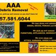 Photo #1: AAA DEBRIS REMOVAL, DECKS, SHEDS, FENCES,  CLEAN OUT YARDS, HOUSES