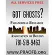 Paranornmal Research Association. Problem with ghosts?