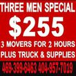 WE CAN MOVE YOU $45/HOUR