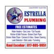 Need plumbing in new residential? WE FINANCE SE HABLA ESPANOL. ESTRELLA PLUMBING