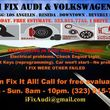 Audi Volkswagen mechanic electric repair mobile