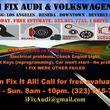 Photo #1: Audi Volkswagen mechanic electric repair mobile