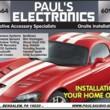 PAULS ELECTRONICS. ONSITE AUTO ACCESSORY INSTALLATIONS