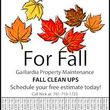 Gaillardia Property Maintenance. Affordable Fall Clean Ups