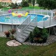 Pool Winterize Installation. Service Repair Liner, Filter, Close