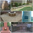 Outdoor Fireplaces, Patios, Flower beds, Masonry Stone and Brick