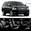All town Black Car SUV