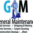 Commercial Janitorial Services - Free Consultation. GM General Maintenance