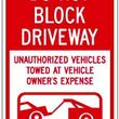 Car blocking your driveway call us now