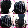 Senegalese twist, box braids