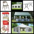 Tents, Chairs, and Tables for Rent