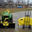 Refurbishment Services for Vintage John Deere Lawn & Garden Tractors