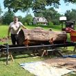 Photo #1: Tree Down? / Rough Lumber Milling