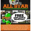 Photo #1: PROFESSIONAL TRASH JUNK & CLUTTER REMOVAL. CALL ALL STAR!