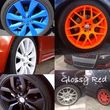 Photo #1: Plasti dip your rims any color you want