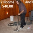 Carpet Cleaning - 2 Rooms & Hall $40.00