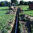 TAYLOR CONSTRUCTION AND ESCAVATION. SEWER AND DRAINAGE CONTRACTOR