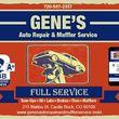 Gene's Auto Repair & Muffler Service