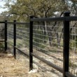 Pipe Fence - Wrought Iron
