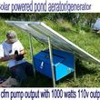 Off-grid solar power/back up power
