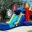 Inflatable Bounce House and Giant Movie Screen