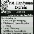 P.m Handyman exspress - kitchen and bath remodeling