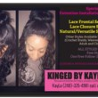 LACE FRONTAL SEW INS...LACE CLOSURE SEW-INS