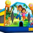 WE BOUNCE AROUND. BOUNCE HOUSES AND INFLATABLES FOR RENT