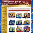 Inflatable Bouncers For Rent - Frankies Carnival Time
