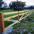 Evan's Custom Fence install