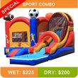$150 special! Moon Bounce Combos with Slide! Forever Bounce SA
