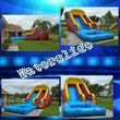 Round tables, Waterslide, moonjumps, get ready for Your Party