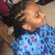 Neat Senegalese Twist and Braids