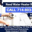 Photo #1: Hot Water Heater Repair & Water Heater Installation ** Fast - Reliable